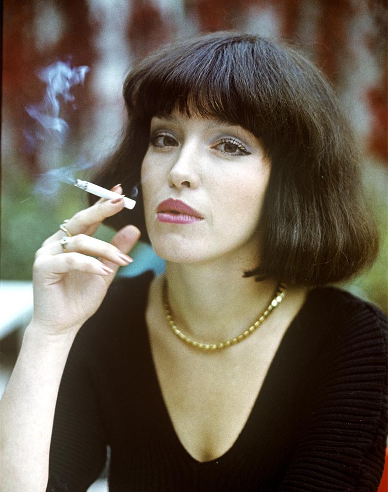 Актриса Анна Самохина в роли Риты в фильме режиссера Юрия Кары «Воры в законе». 1988 год.