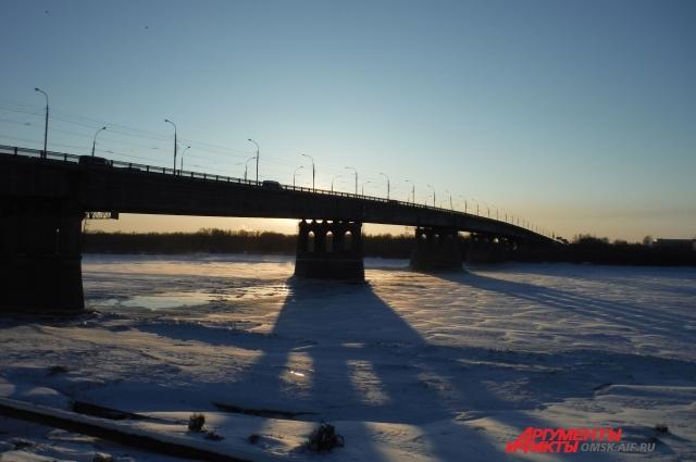 Ленинградский мост.