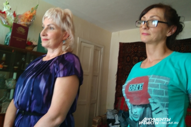 Две внучки — единственные близкие родственницы.