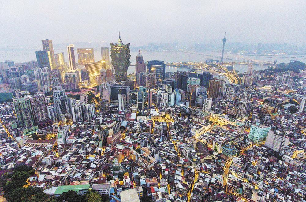 И это современный мегаполис.