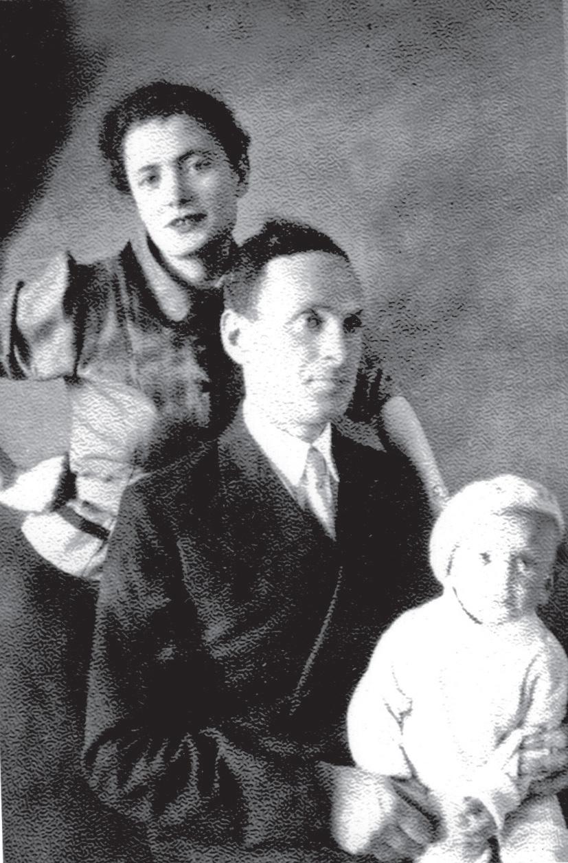 Семья Олега Мортковича перед войной.