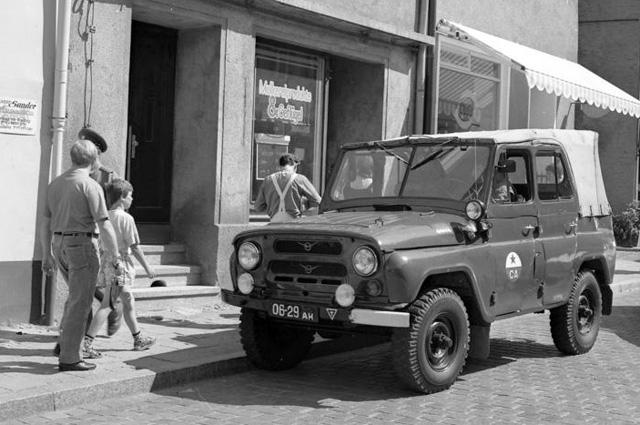 УАЗ-469 в Группе советских войск в Германии, 1991 году