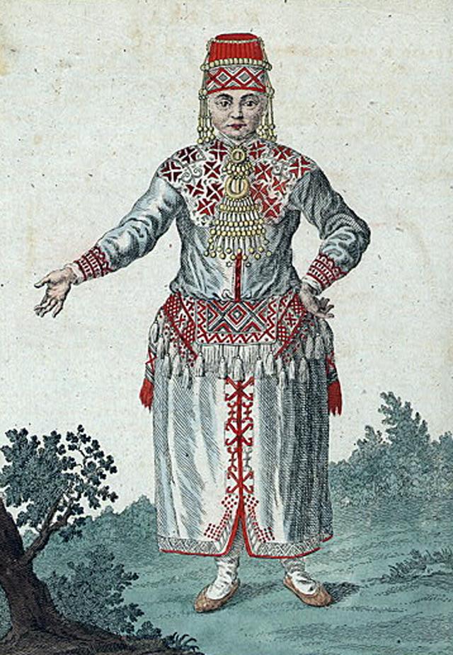 Мордовка. Конец XVIII века.