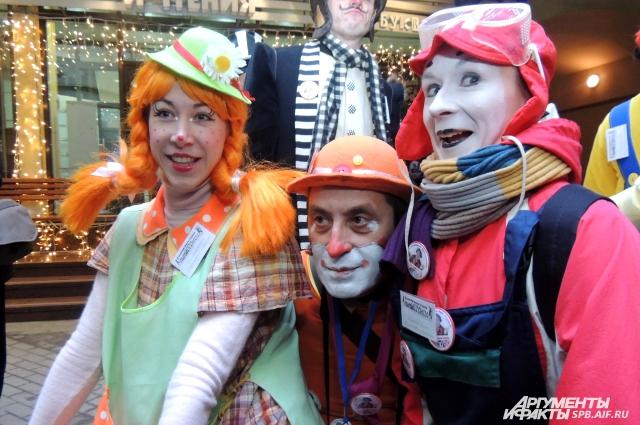 1 апреля - день, когда каждый может побыть клоуном.