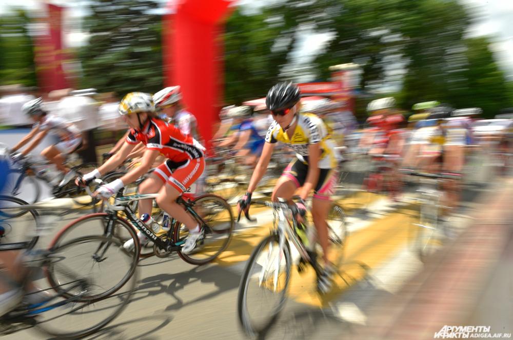 Велогонка Тур Адыгеи.