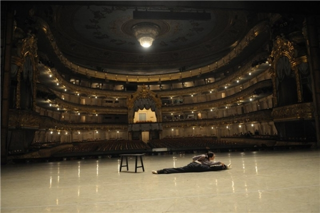 Сцена Мариинского театра.