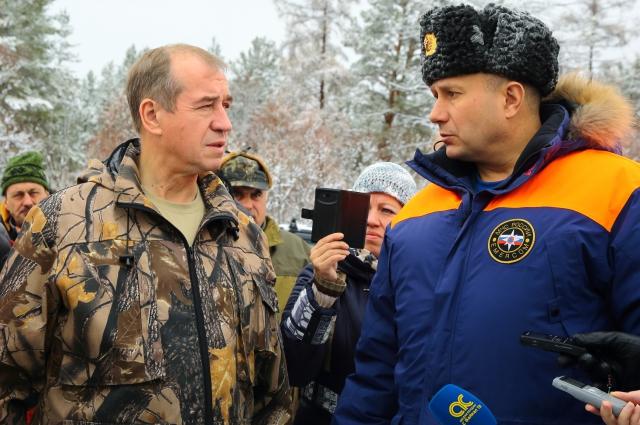 Сергей Левченко и Валентин Нелюбов.