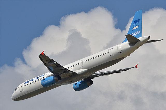 A321 авиакомпании Metrojet
