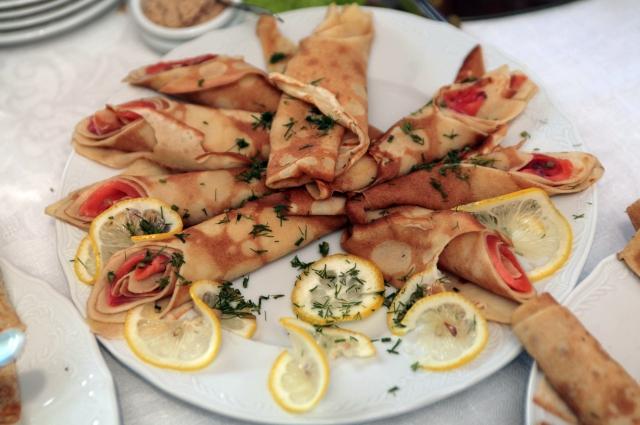«АиФ. Еда по-питерски»: блины с начинкой
