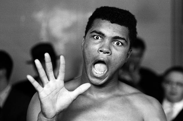 Мохаммед Али. 1963 год.