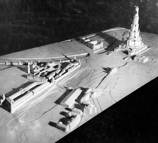 Проект Дворца Советов архитектора Бориса Иофана
