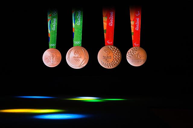 Олимпийские медали Рио.