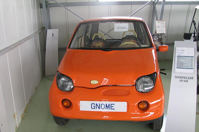 Экспериментальный автомобиль АвтоВАЗа «Гном» должен был решить проблему городского движения в густонаселенных городах, но он так и не пошел в серию.