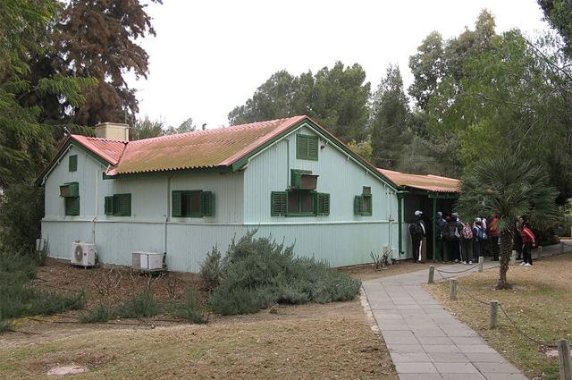 Дом Бен-Гуриона в кибуце Сде-Бокер