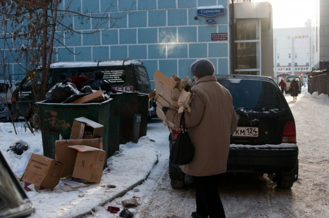 К сожалению, собирать мусор жилого сектора раздельно пока невыгодно.