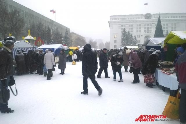 Предпраздничные ярмарки пройдут по всему Кузбассу.