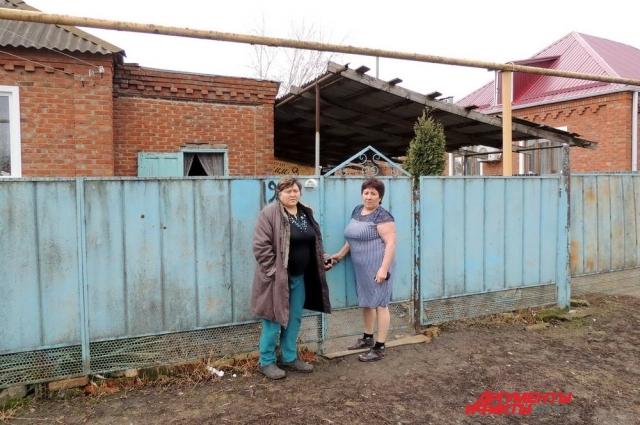 Семьи Татьяны Акимовой и её соседки Нигерхалум Якубовой тоже могут лишиться единственного жилья.