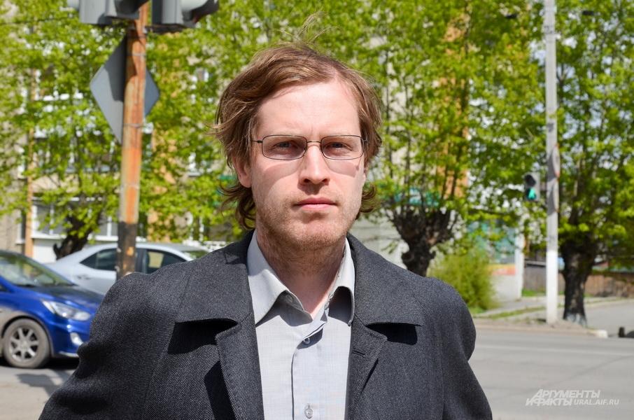 Общественный активист Алексей Кононов.