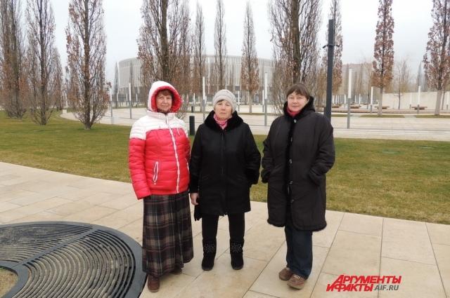 Жительницы Краснодара Валентина Куршнева, Валентина Кондакова и Татьяна Воронова до последнего надеялись, что флешмоб состоится.
