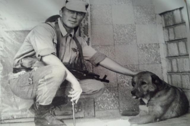 Собака Джек Карлович чувствовала афганцев за 200 метров.
