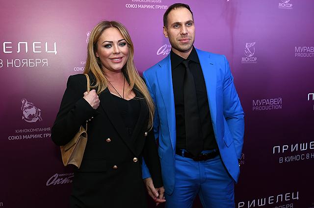Юлия Началова и Вячеслав. Октябрь 2018 г.