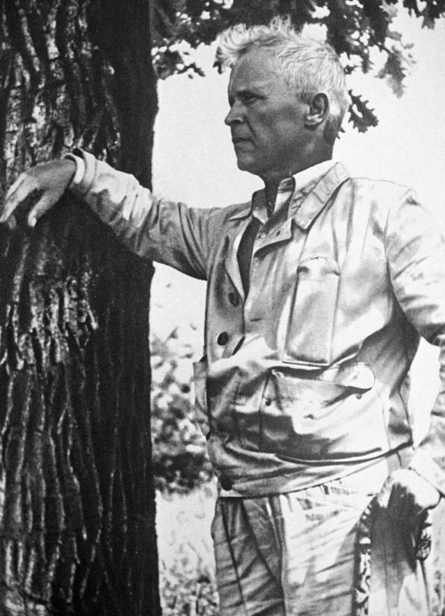 Александр Довженко. 1950 год.