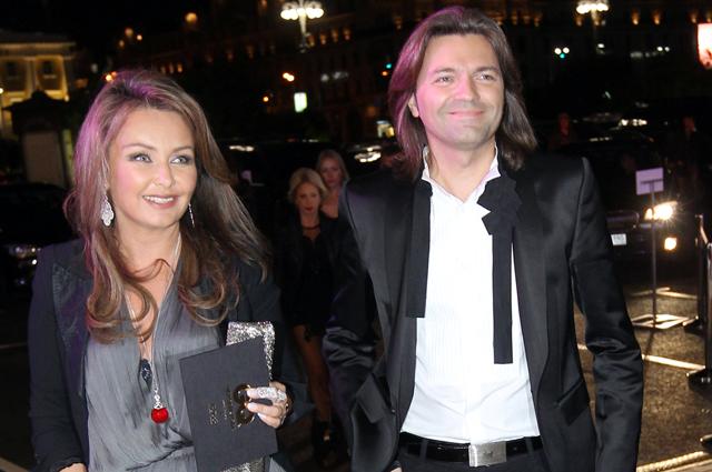 Дмитрий Маликов с женой Еленой. 2011 г.