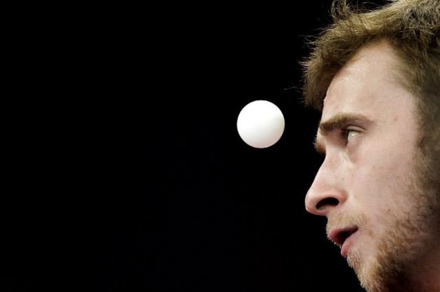 С увеличением шарика зрелищность настольного тенниса выросла.