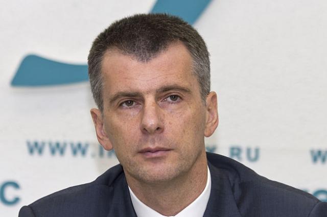 Михаил Прохоров служил в ракетных войсках.