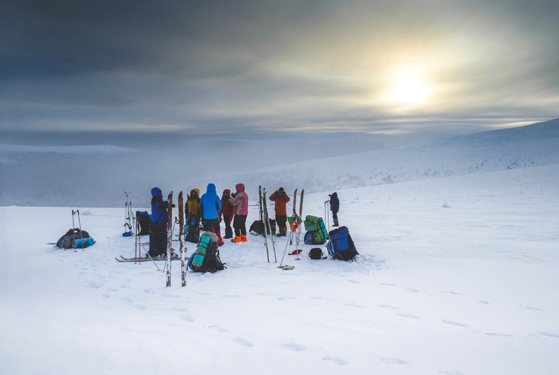 На зимний поход пермяки решились ещё в октябре 2015 года.