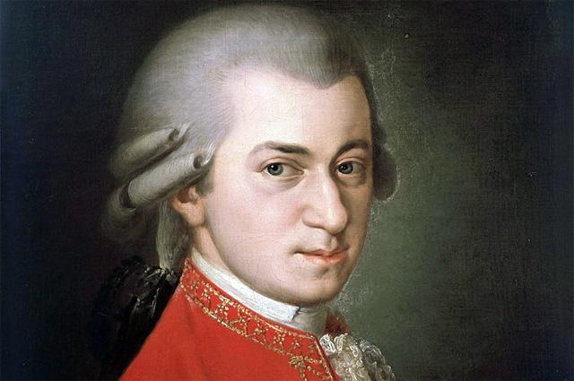 Посмертный портрет Моцарта кисти Барбары Крафт (1819)