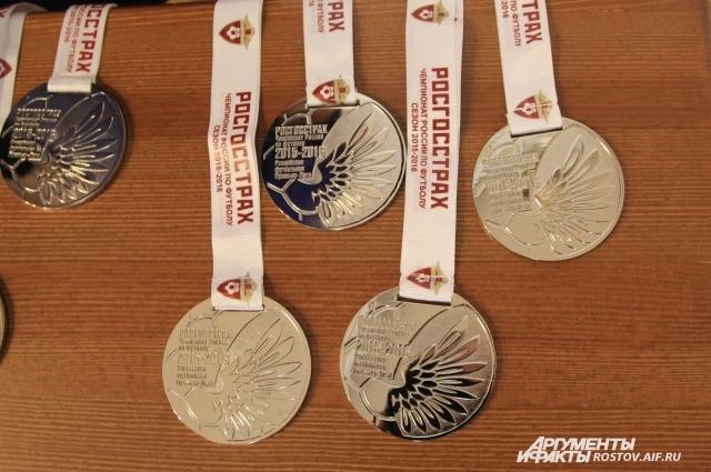 ФК «Ростов» впервые завоевал серебряные медали.