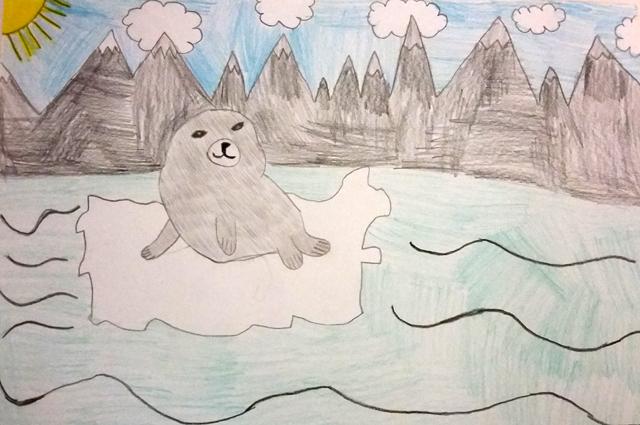 Рисунки конкурса Чистое Прибайкалье
