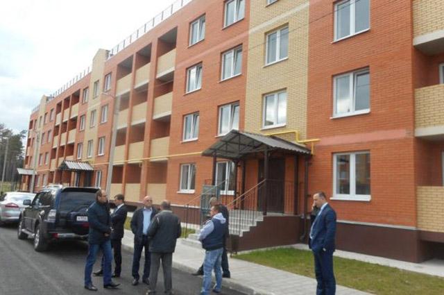 Представители Фонда ЖКХ проводят проверку в городе Людиново Калужской области.