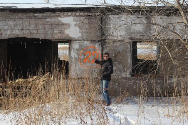 Контрольные точки нередко располагались на стенах заброшенных зданий.