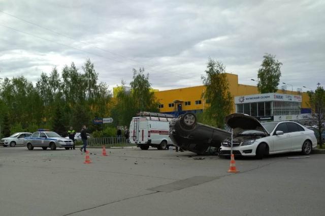 авария произошла около 9 часов утра.