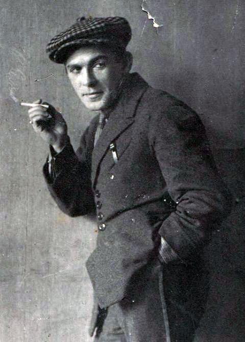 Леонид Утесов Неизвестный автор, 1913 – 1922 год, из архива Галины Габнис.