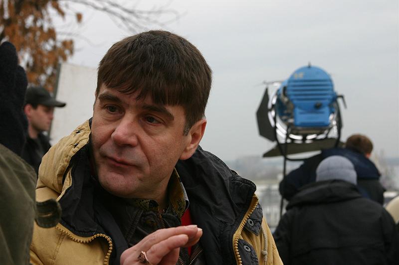 Сергей Маковецкий на съемках нового фильма Алексея Балабанова Жмурки