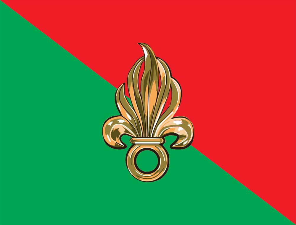 Символ Иностранного легиона.