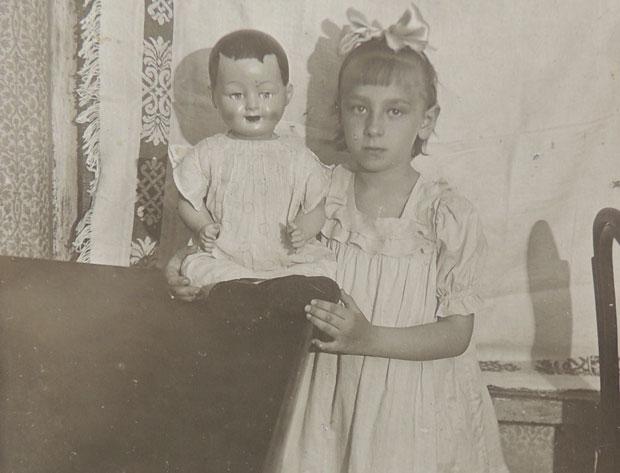 Шестилетняя Муза незадолго до июня 1941-го