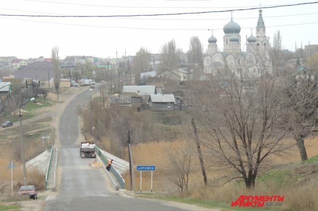 Посёлок Ерзовка Городищенского района Волгоградской области