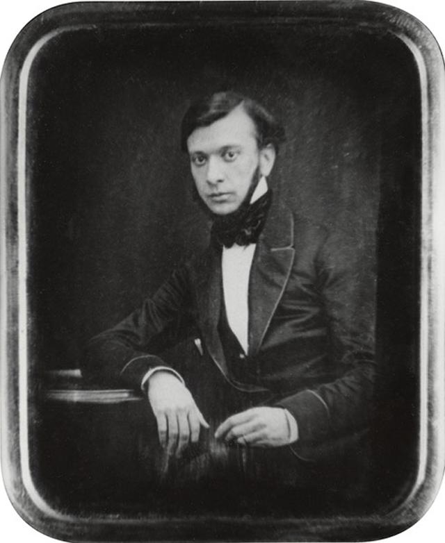 Александр Сухово-Кобылин. Портрет 1850-х годов.