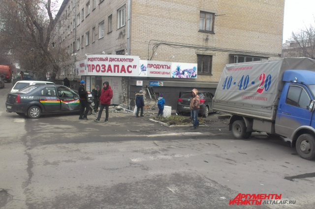ДТП на Э.Алексеевой