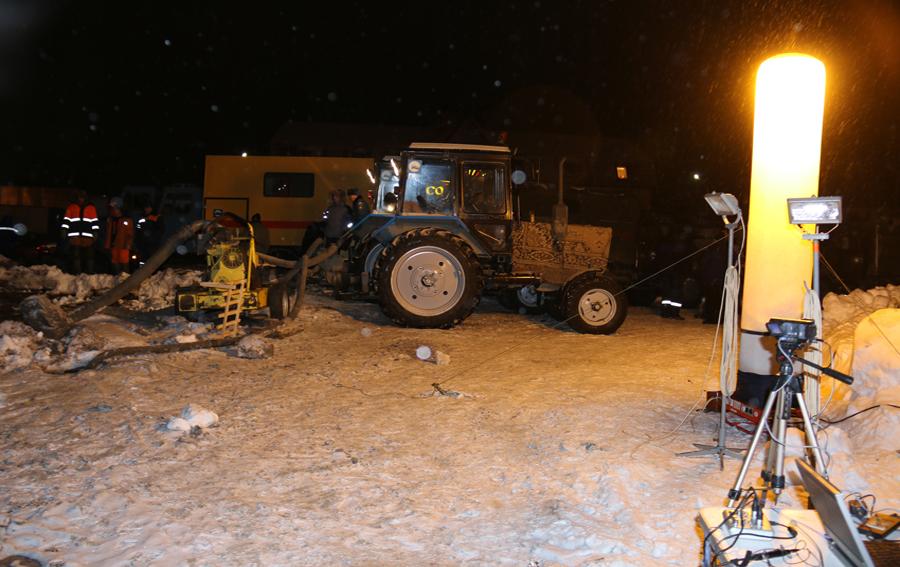 коммунальная авария в Саратове