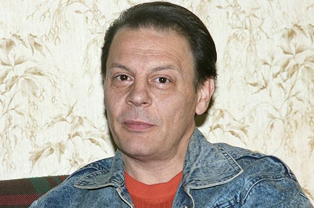 Театральный режиссер Александр Бурдонский.