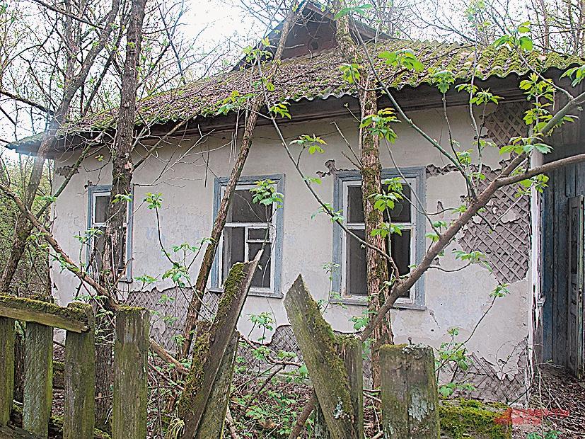 Заброшенный дом в Залесье.