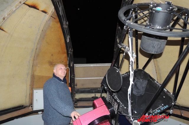 Александр Иванов убеждён, что астрономия «цементирует» все знания, которые человек получает в школе.