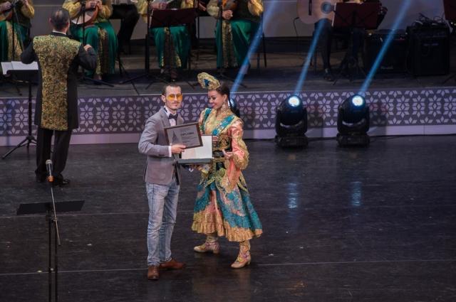Ильшат Рахимбай на Казанском фестивале мусульманского кино получил спецприз.