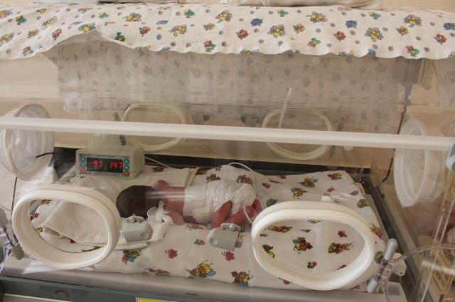 В краевом перинатальном центре выхаживают 600-граммовых младенцев.