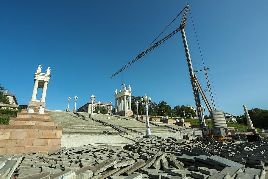 реконструкция набережной Волгограда